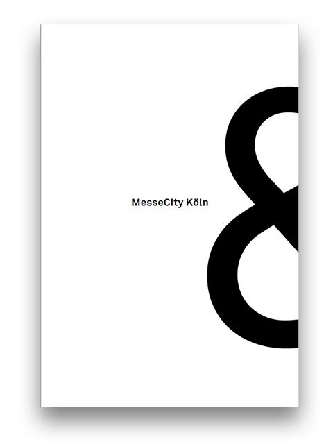 Broschüre der MesseCity Köln